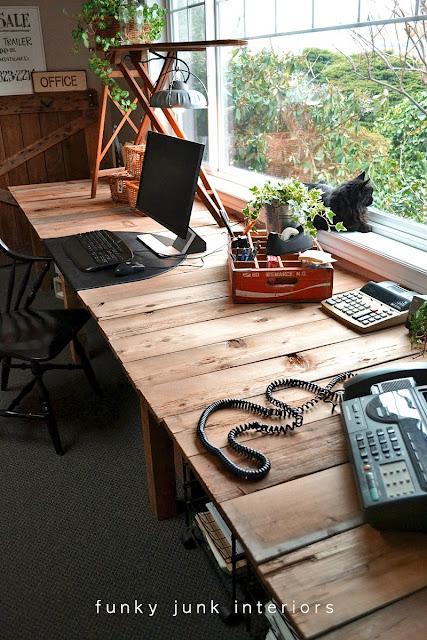 Pallet Farm Table Desk