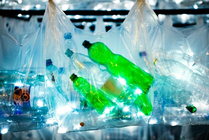 Labyrinth of plastic waste 004